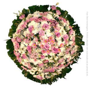 Coroa de Flores Delicada Lilás